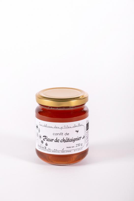 Confit de Fleurs de Châtaignier Bio - Auberge de la Tour - Renaud Darmanin - Chef étoilé