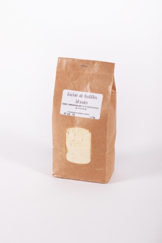 Farine de Lentilles  - Auberge de la Tour - Renaud Darmanin - Chef étoilé