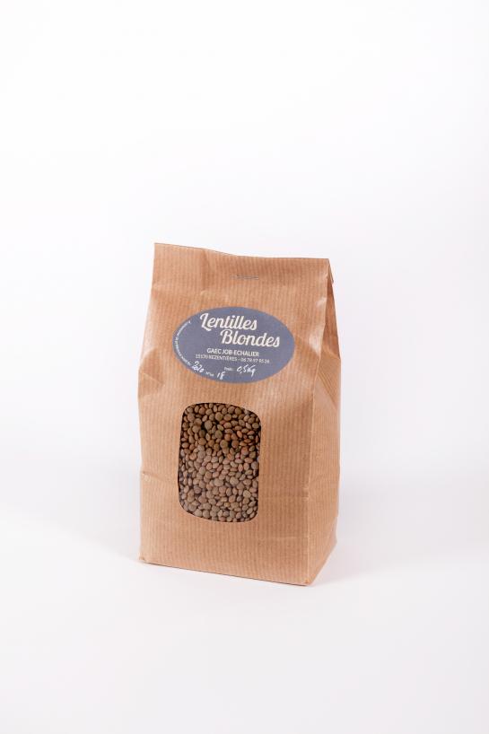 Blond lentils | Farmer Variety