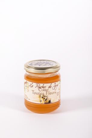 Miel Toutes Fleurs- Auberge de la Tour - Renaud Darmanin - Chef étoilé