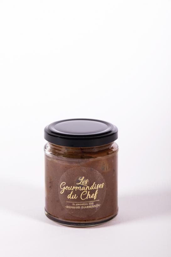 Crème de marrons maison - Auberge de la Tour - Renaud Darmanin - Chef étoilé